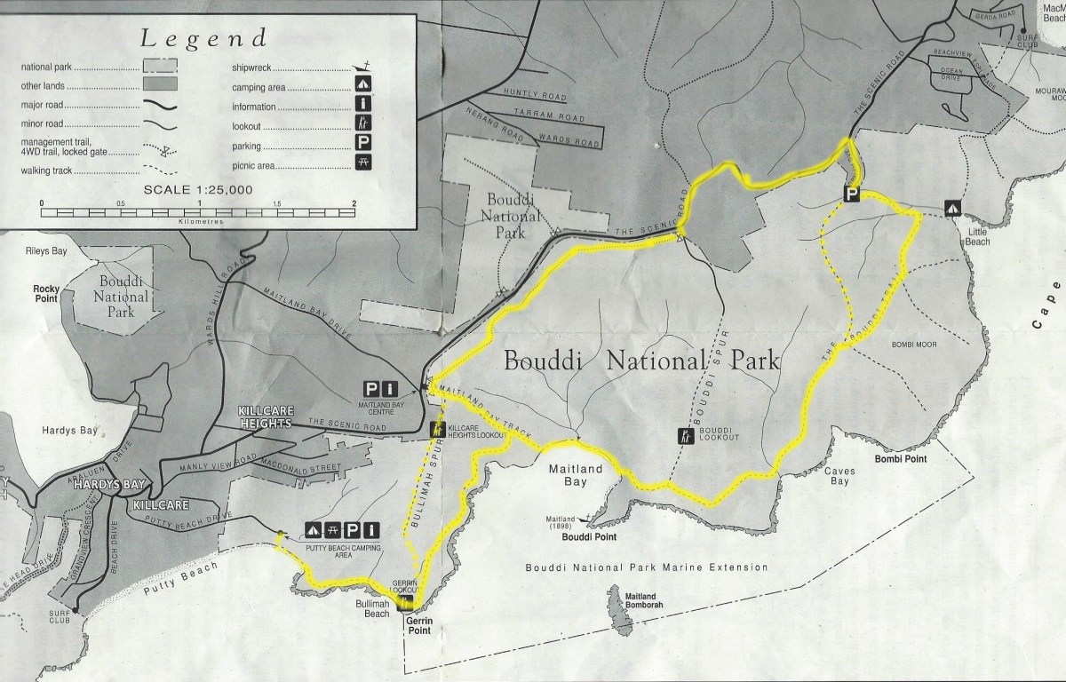 Map-BouddiNationalPark-CoastalWalk