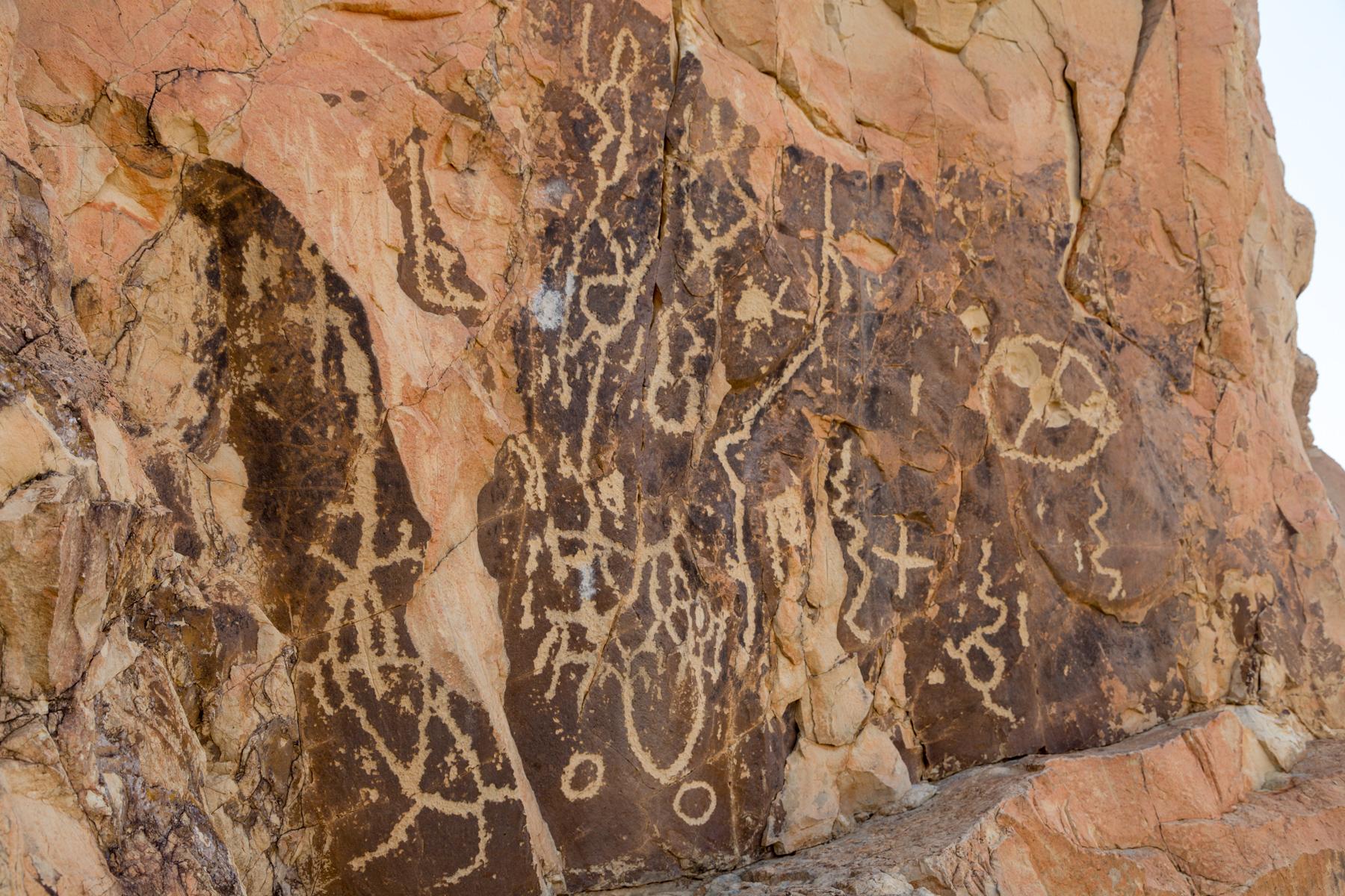 Petroglyphts at The Chimneys (Big Bend National Park)