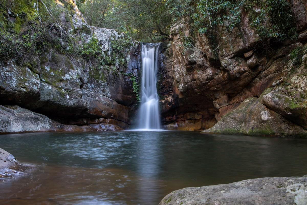 Cronan Creek Falls (also known as Secret Falls)