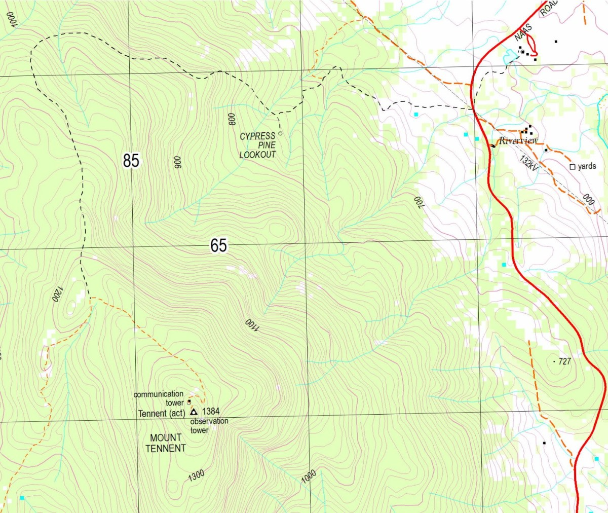 Mt-Tennent-map