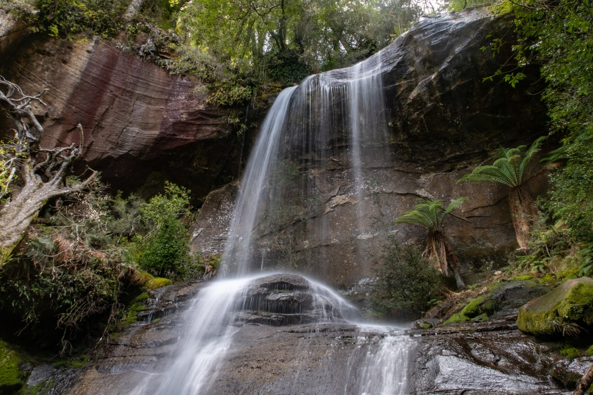 Shower Cave Falls