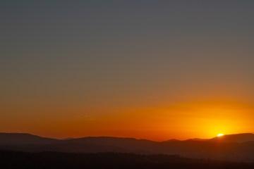img 8830 lr Sunrise from Mount Pilot