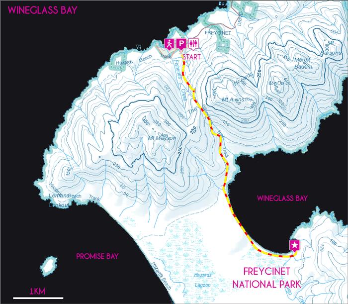 Map-Wineglass-Bay