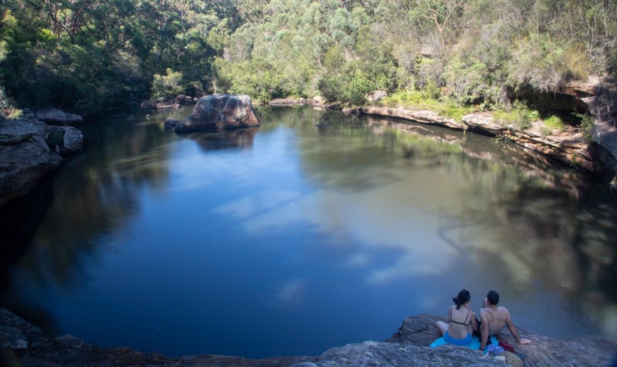 Minerva sacred pool (Dhawaral NP)