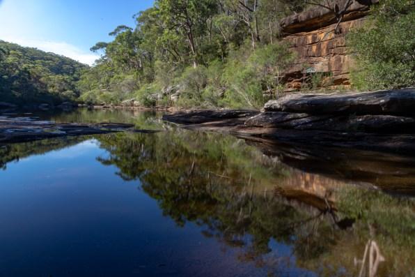 "The ""Olympic Pool"" on Upper Kangaroo Creek"