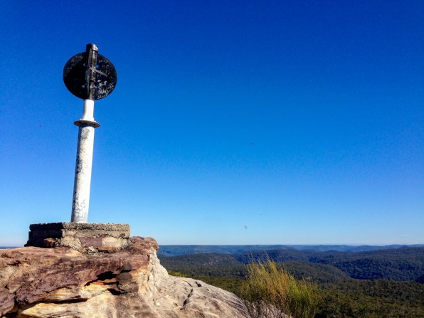Mt Wondabyne summit