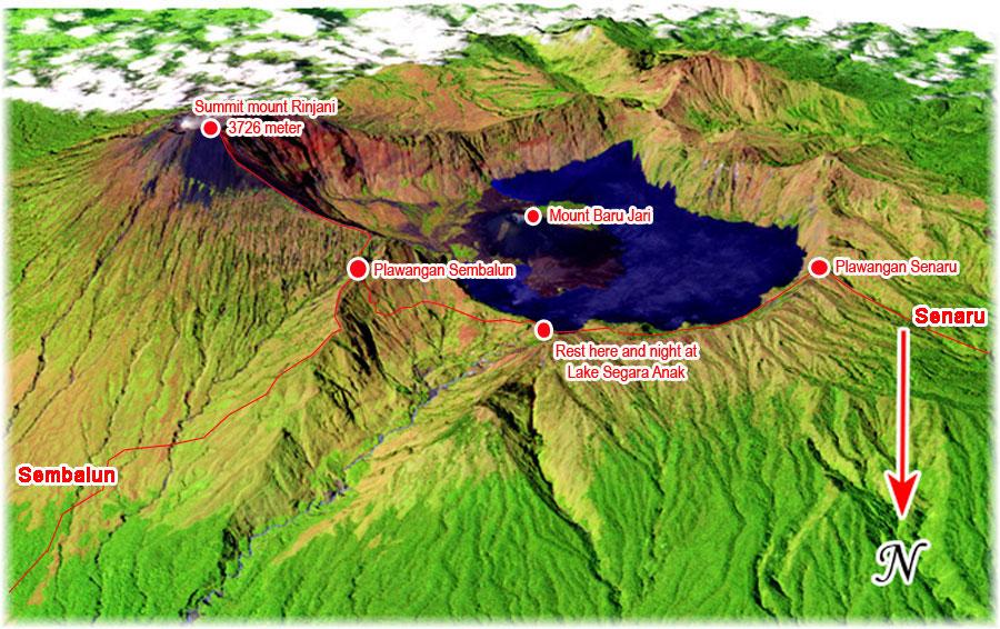 map-mount-rinjani