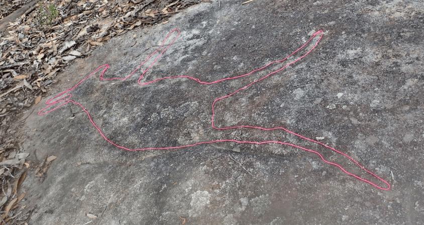 p5154614e resize2 Myall Trail Aboriginal sites (Ku-ring-gai Chase)