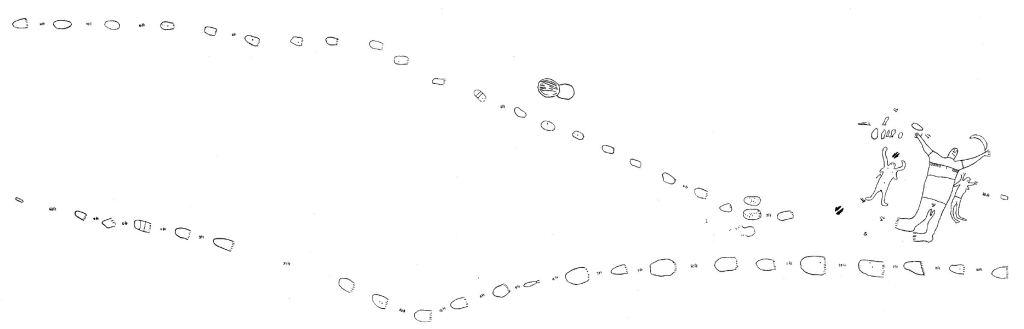 Engraving Mt Ku ring gai Mt Ku-ring-gai Aboriginal site