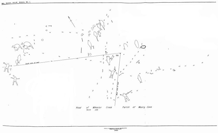 Engraving Wheeler Heights Wheeler Heights Aboriginal Site