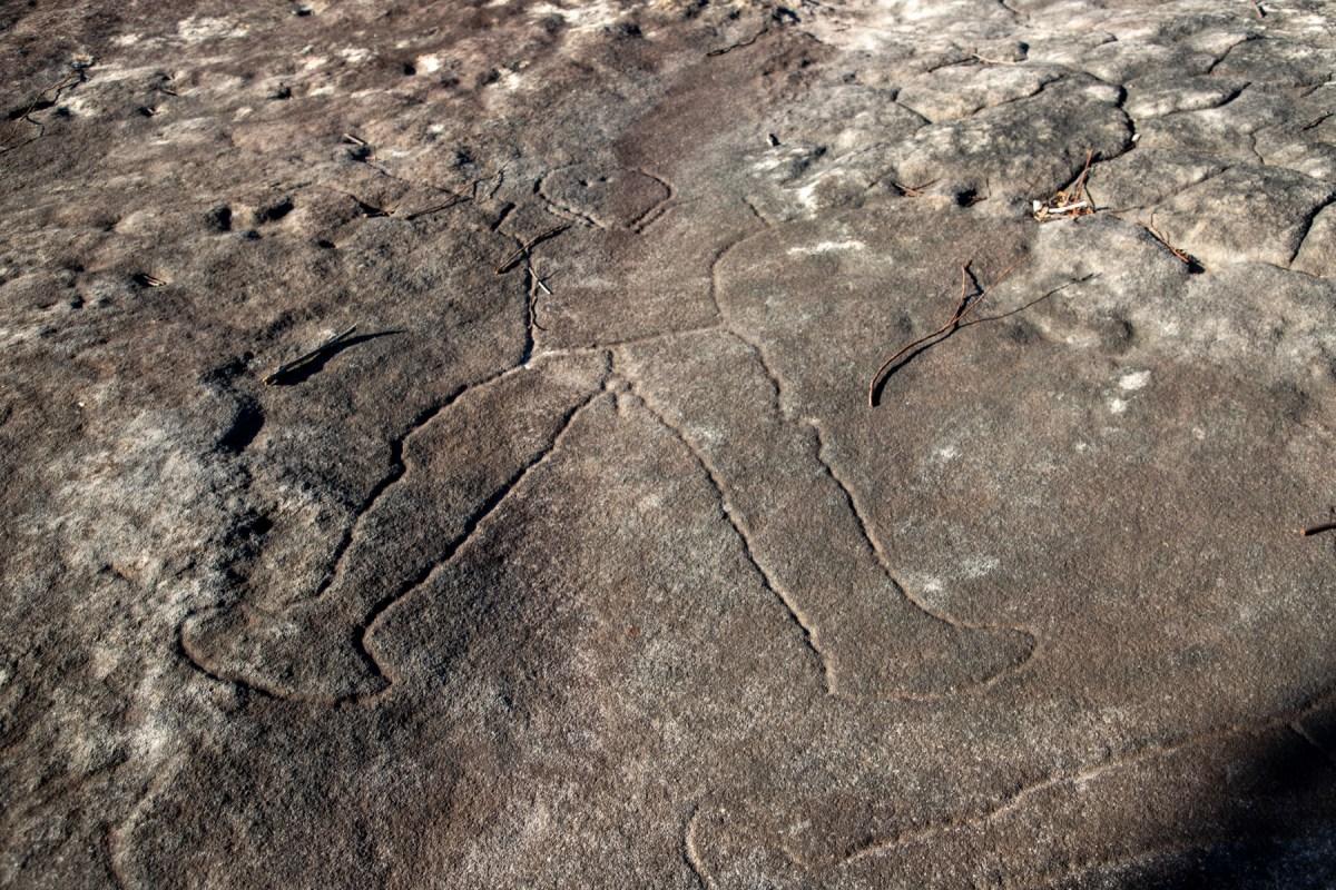 IMG 1943 LR Spirits Rock (Cowan Trail)