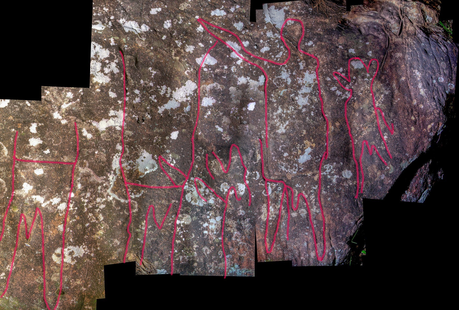 Montage2 stitch LR highlighted 1 Upper Smiths Creek frieze and mundoes