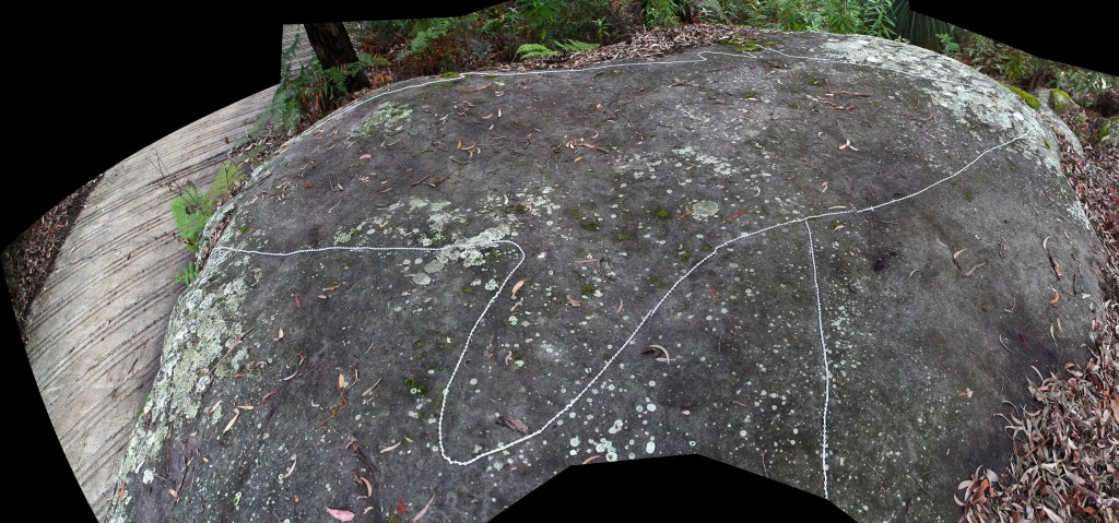 montage2 stitch LR Basin and Mackerel Track Aboriginal sites