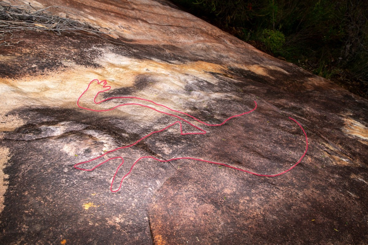 AWAT6244 LR highlighted Myall Trail Aboriginal sites (Ku-ring-gai Chase)