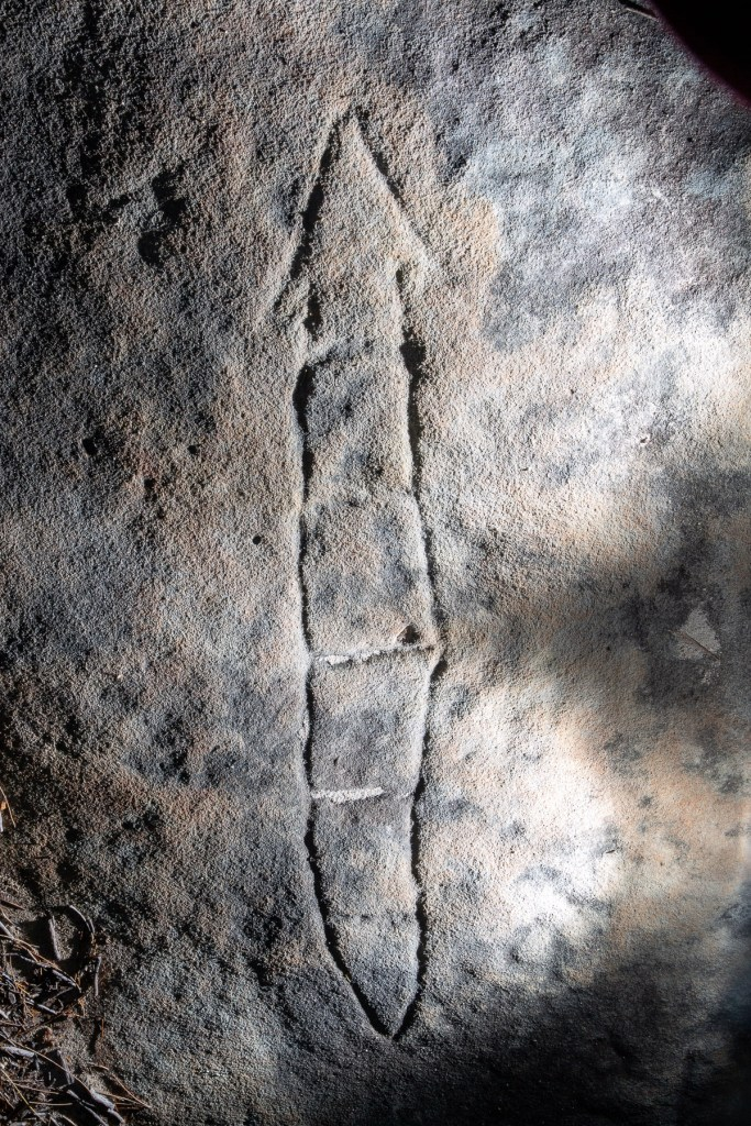 AWAT7152 LR Resolute Track Aboriginal Engraving Site