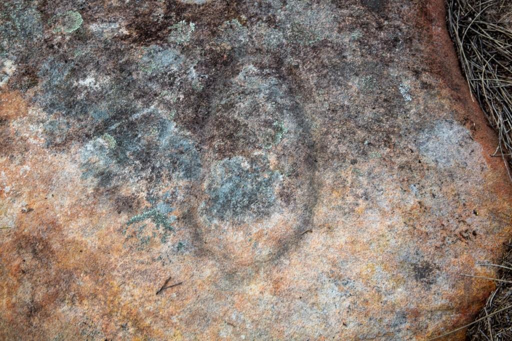 AWAT9850 LR Resolute Track Aboriginal engraving sites