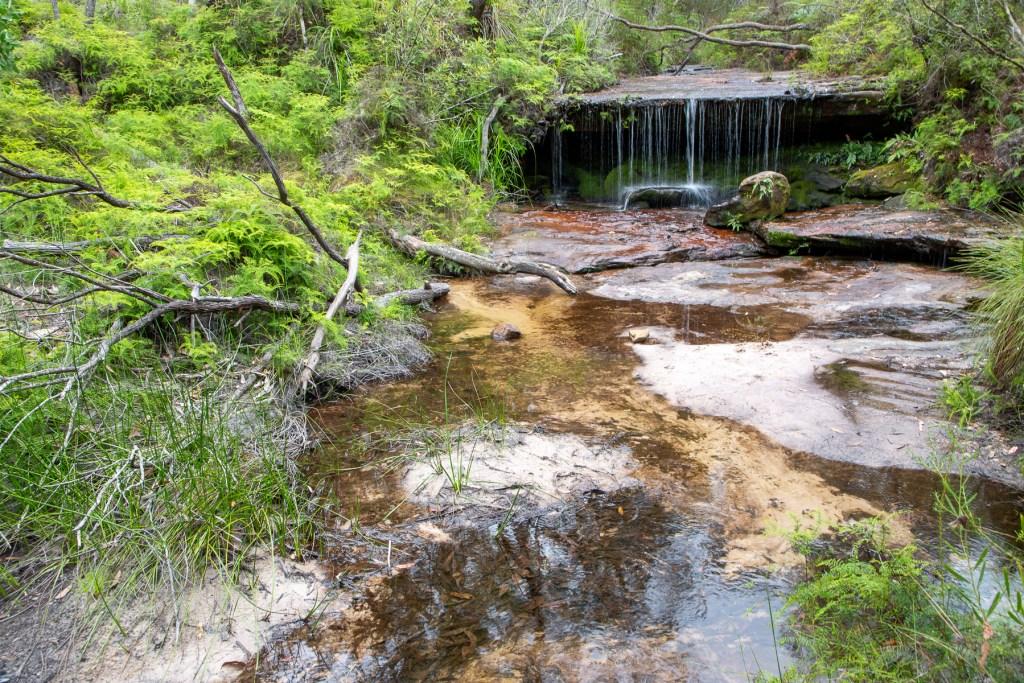 Fountain Creek cascade