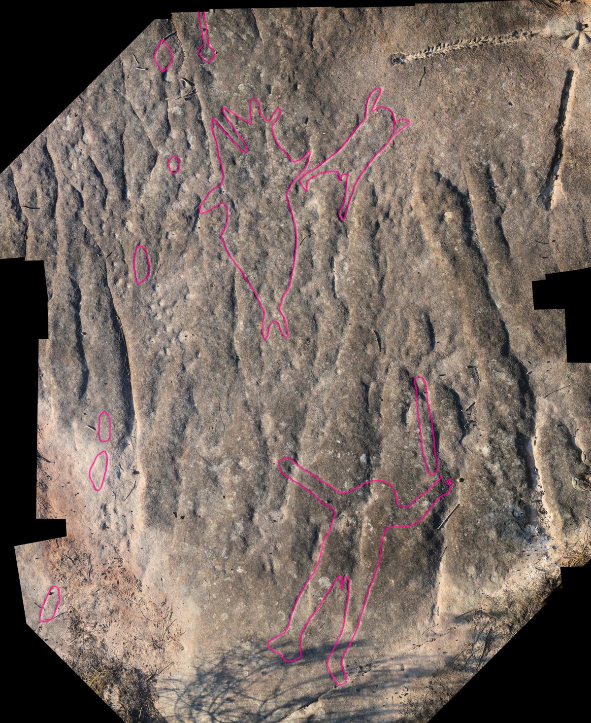 montage1b LR Photographing Aboriginal rock art