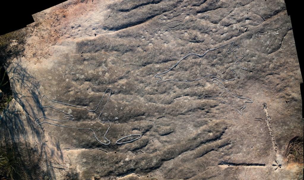 montage3 stitch LR 1 Photographing Aboriginal rock art