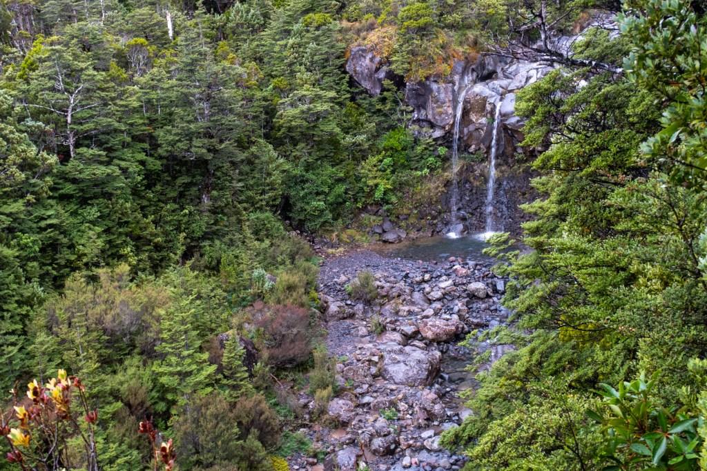 Mangawhero Lower Falls