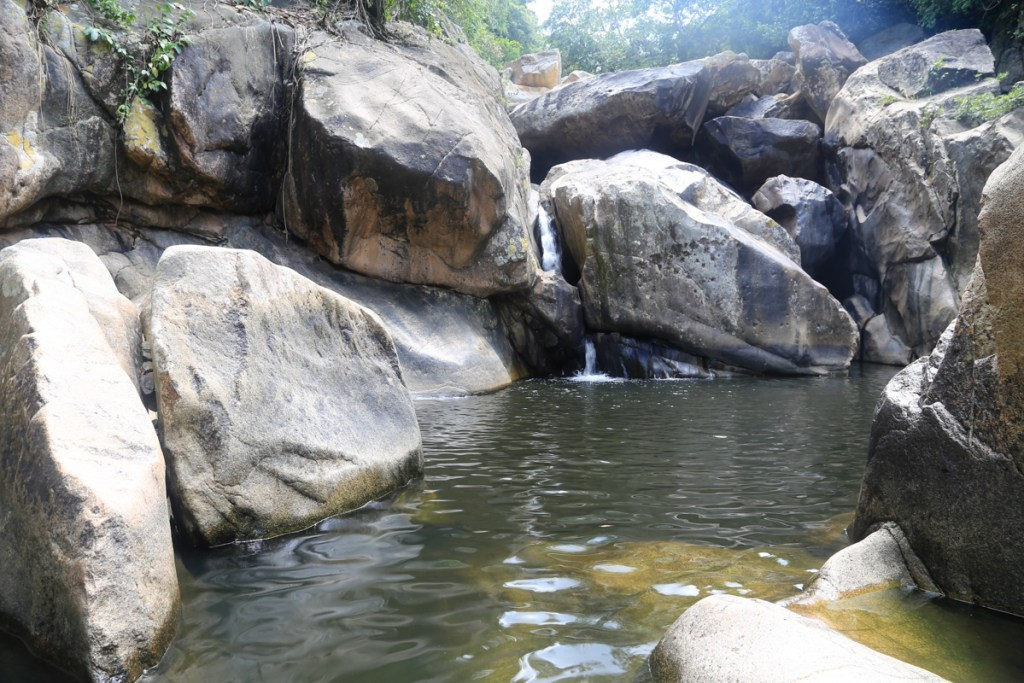 Ba Ho Waterfalls (First lake)