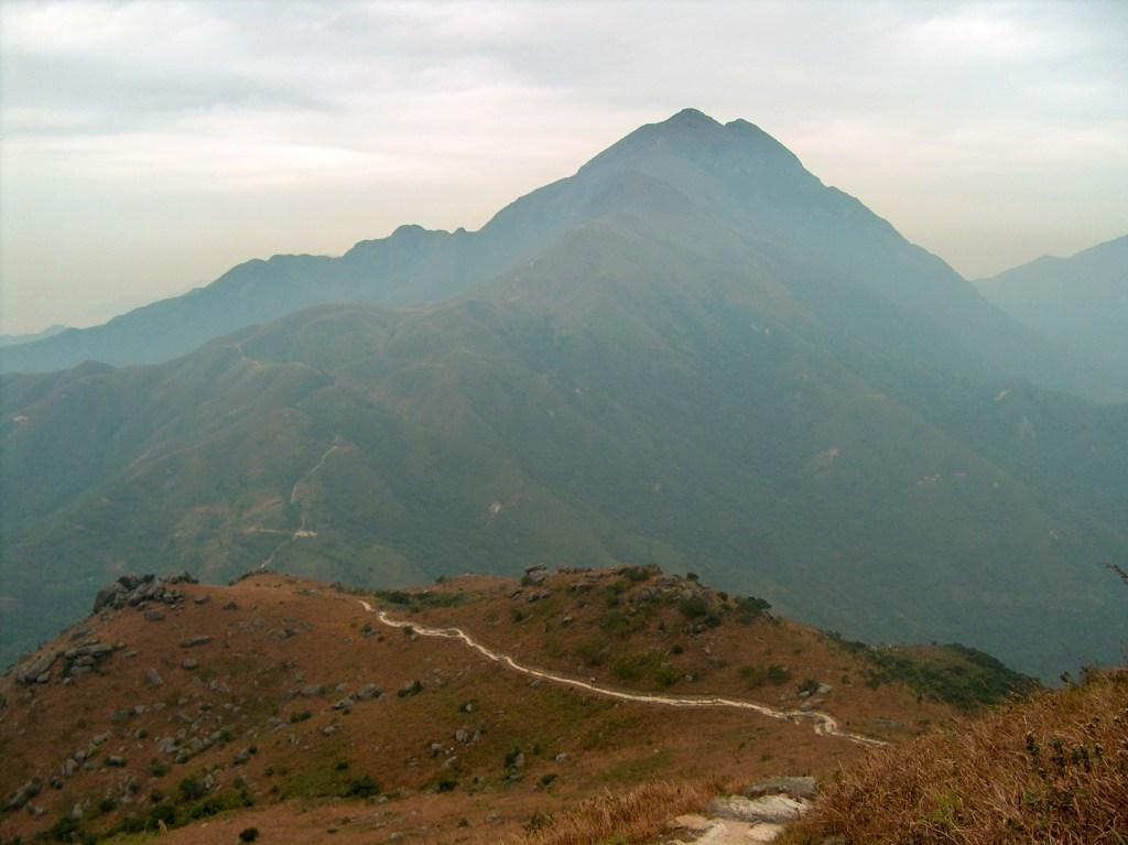 Lantau Peak from Lantau Trail