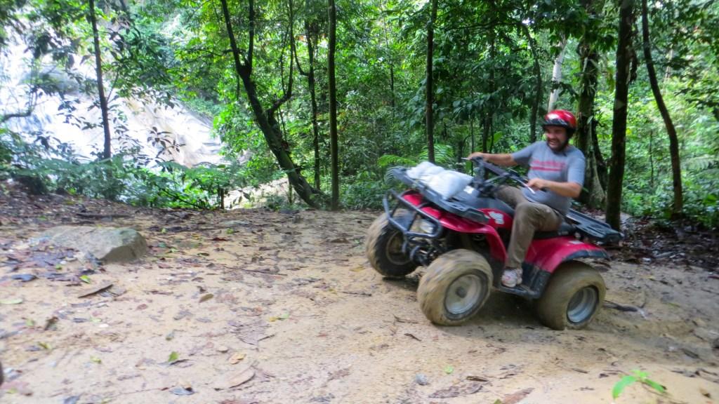ATV ride to Sofea Jane Waterfall (Jeram Kubang Gajah)