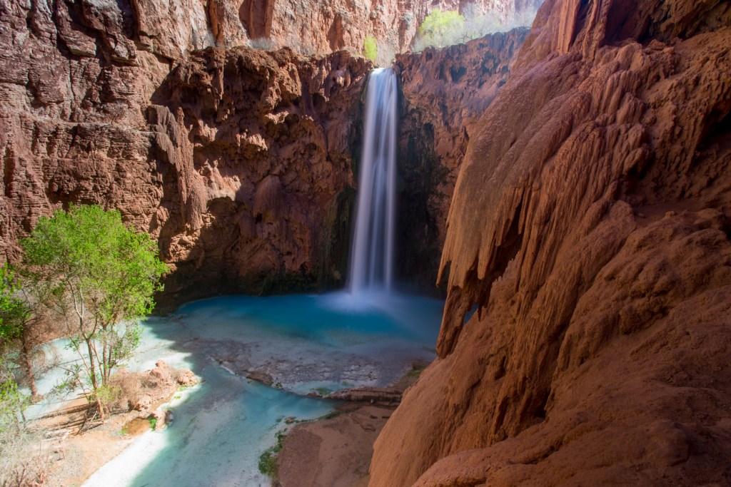 Mooney Falls in Havasu Canyon