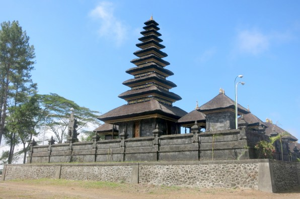 Besakih temple, start (and end) of the trek