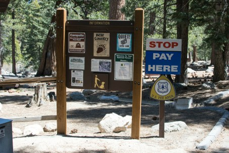 You will see signs leading to Burkhart Trail