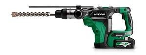 Hikoki Shop Hikoki 36V Akku-Bohr- & Meißelhammer(Brushless) SDS-Max DH36DMA (4.0) (Transportkoffer)