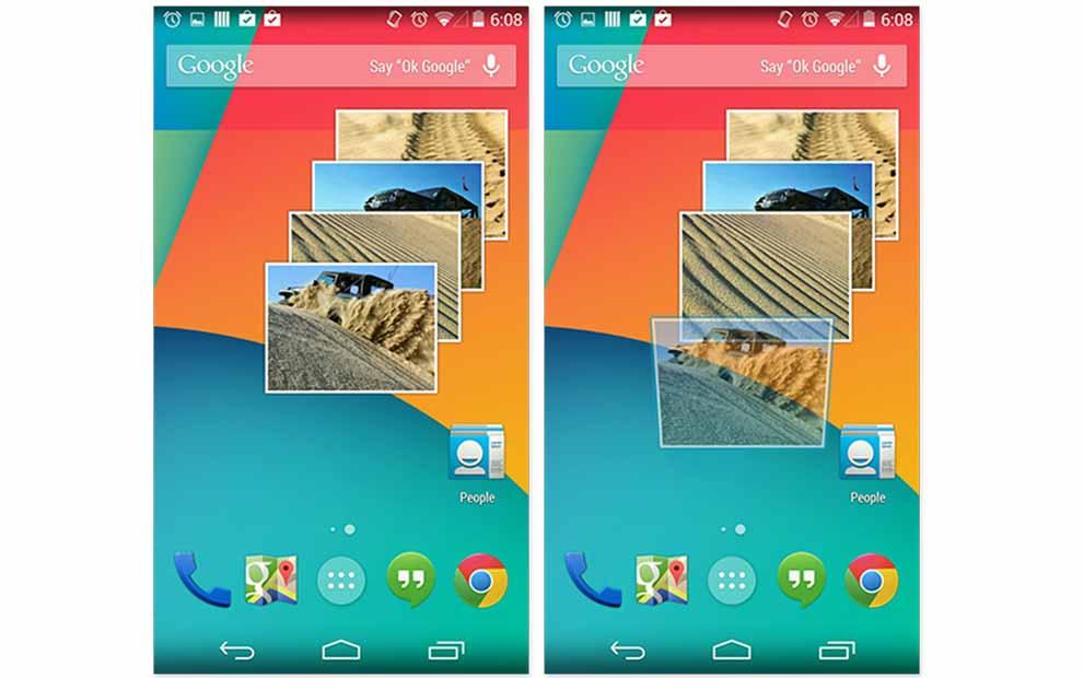 Android'de widget'leri nasıl kaldırabilirim