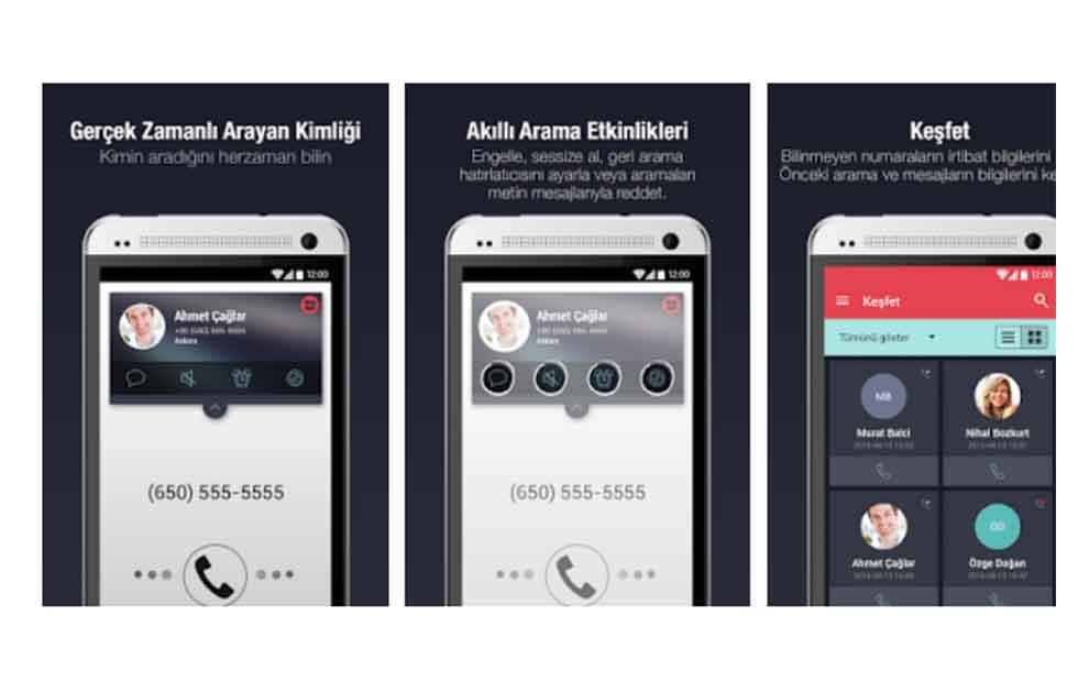 Arama Engelleme Android Çağrı Tanıma Programı