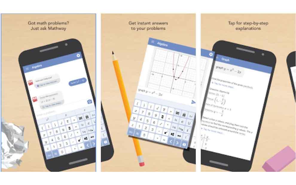 Android için Mathway ile Saniyede Matematik Sorunlarını Çözüzme uygulaması android