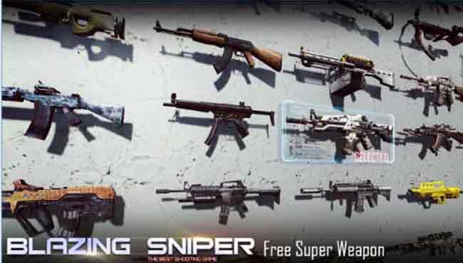 Blazing Sniper: Android Aksiyon/Savaş Oyunu İndir apk