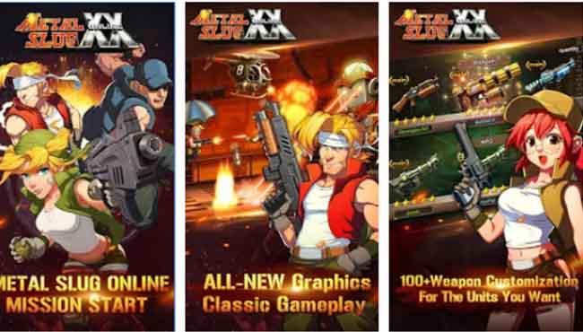 Metal Slug XX Online: Android Arcade Oyunu İndir