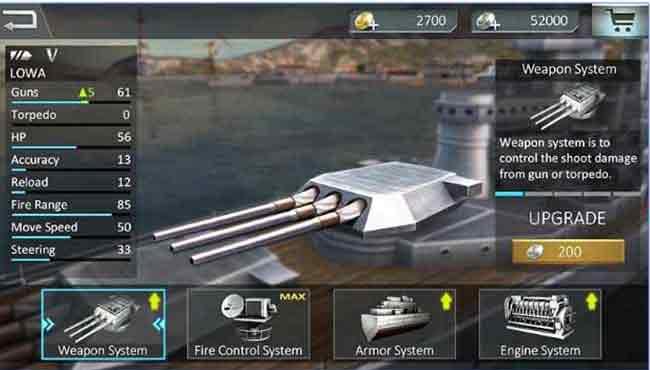 Savaş gemi saldırısı 3D: Android Savaş Oyunu apk indir