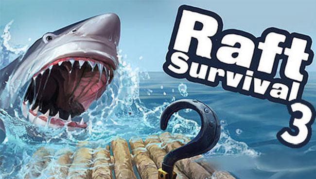 Raft Survival 3 Android Köpek Balığı Oyunu