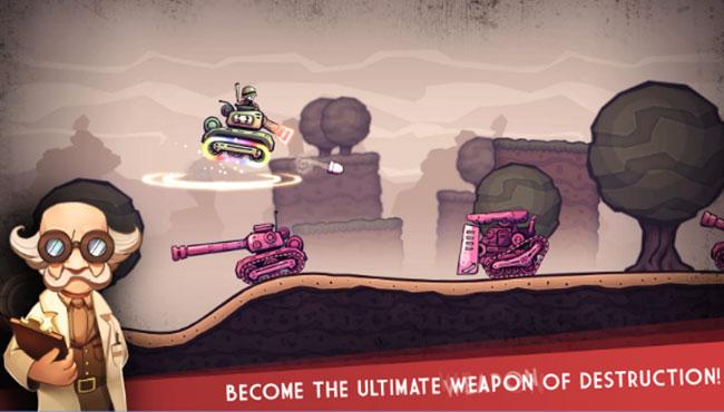 Mobil Arcade Oyunu: Super Mega Death Tank