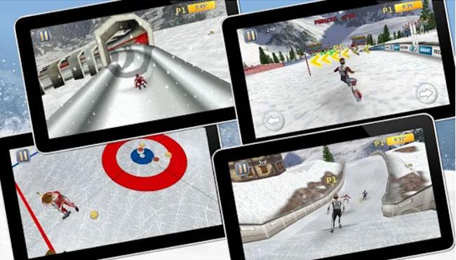 Athletics 2: Winter Sports Android oyunu indir