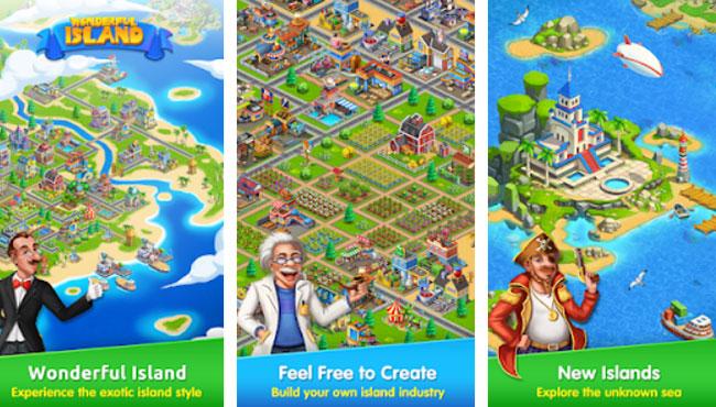 Wonderful Island: Android Simülasyon Oyunu İndir apk