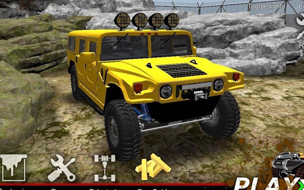 Oyun açıklaması:American Off-Road Outlaw: Android araba oyunu
