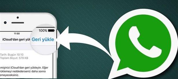 WhatsApp Konuşmaları Geri Yükleme Android