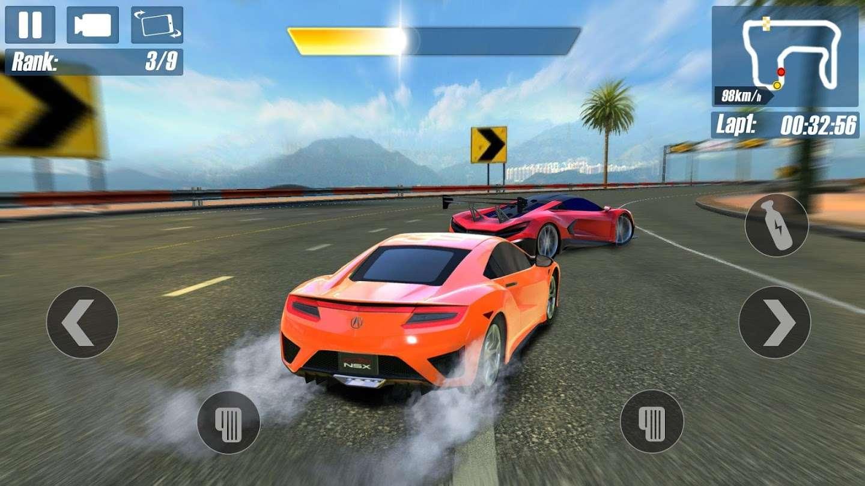 Android araba oyunu: Real Road Racing-Highway Speed Car Chasing Game