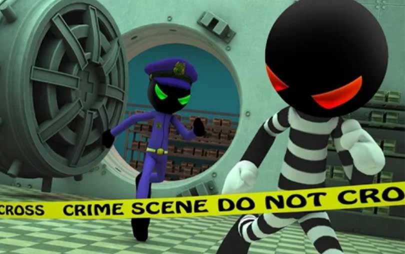 Criminal Stickman Escape 3D android oyunu indir