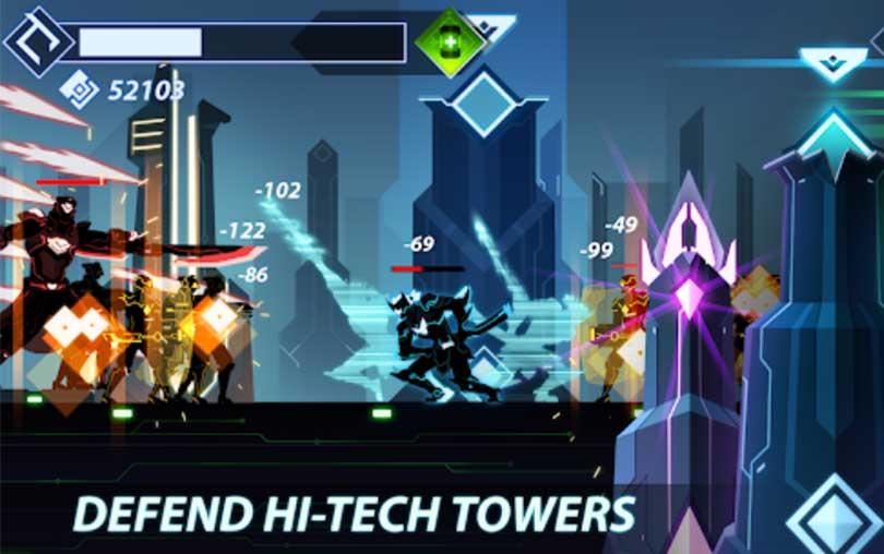 Overdrive - Ninja Shadow Revenge Android Oyunu indir