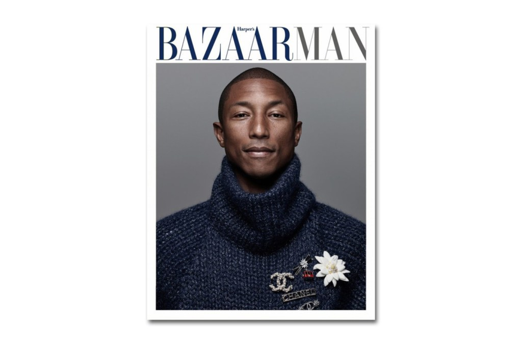 Pharrell Covers the 'Harper's Bazaar Man Korea'