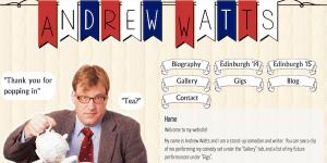 Andrew Watts's website