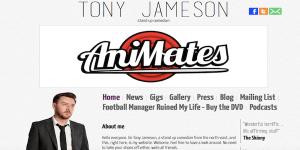 Tony Jameson's website
