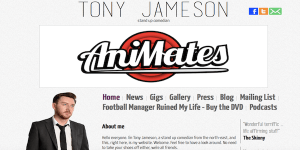 Tony Jameson's website